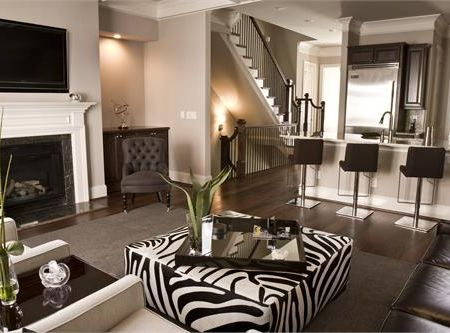 Imprimeurile animal print in design-ul interior