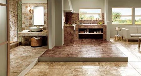 Placi ceramice in stil natural