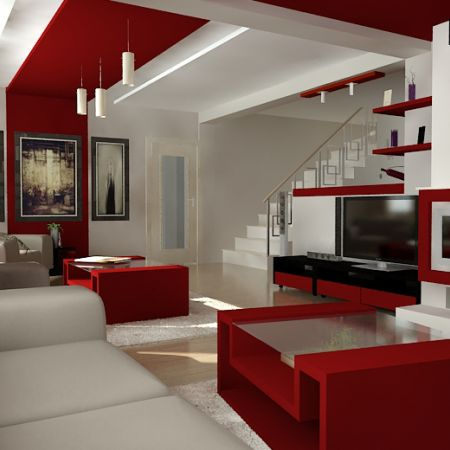 Interior Design Living Room on